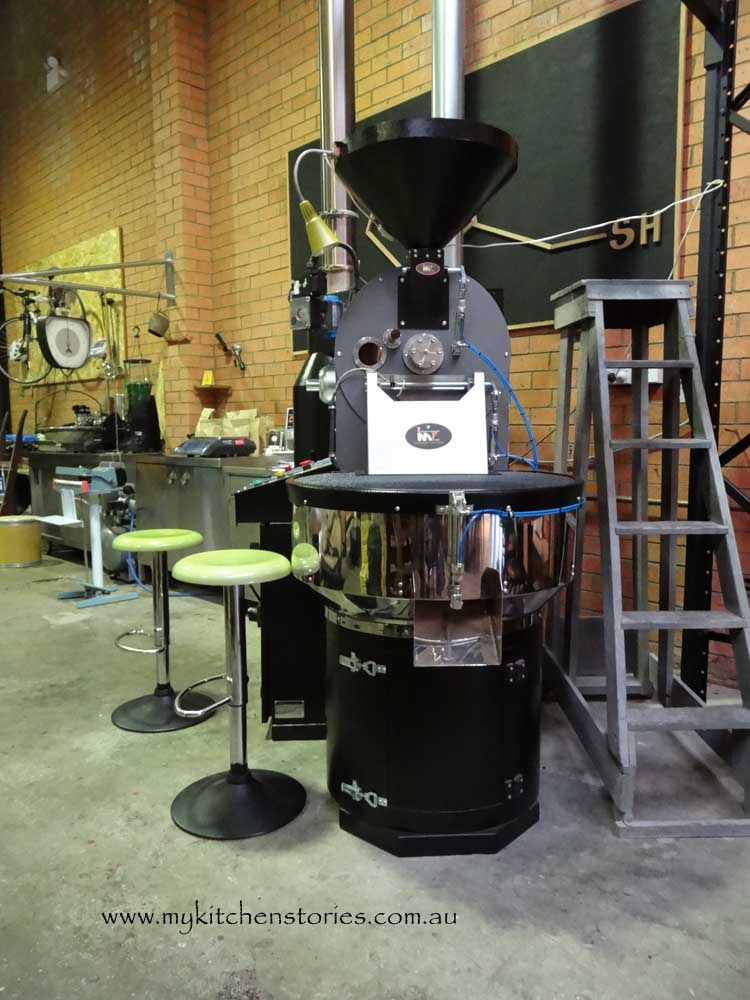 Coffee Roasting at Roastville