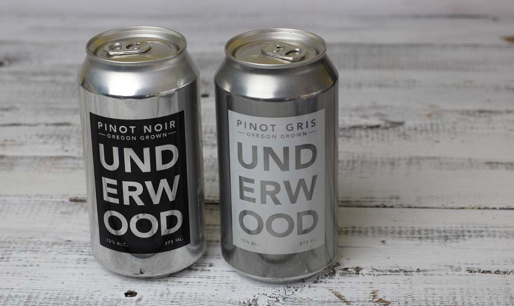 Cans of wine frim NY