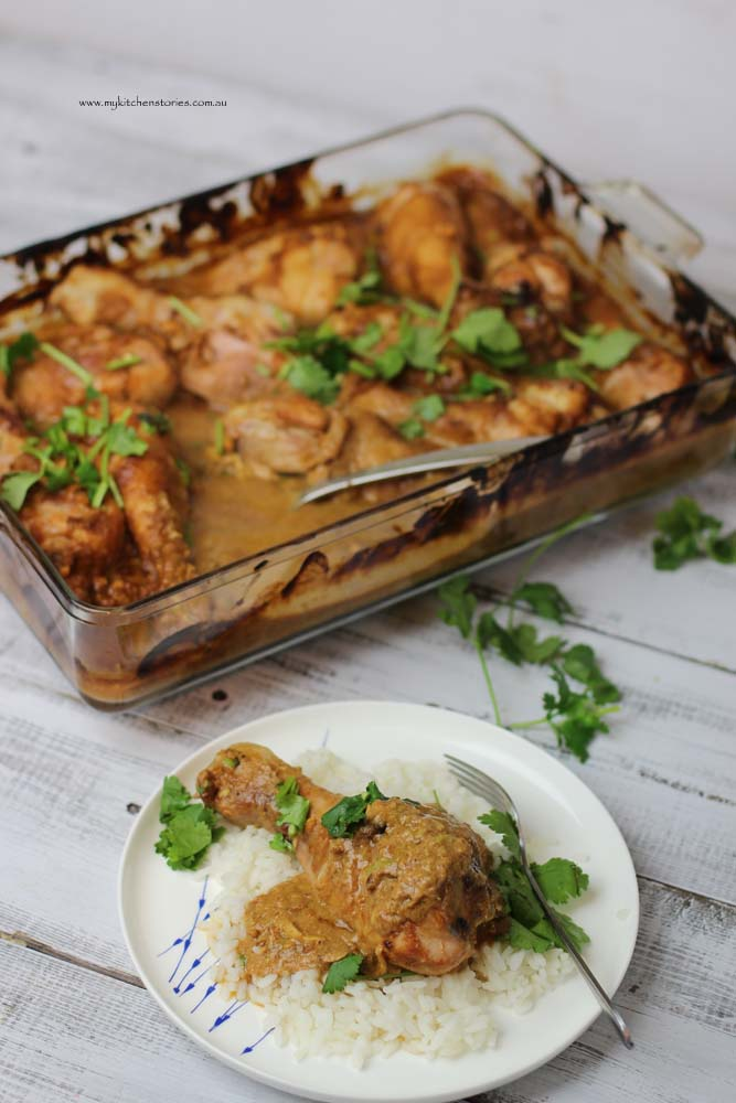 Tray baked Chicken Satay