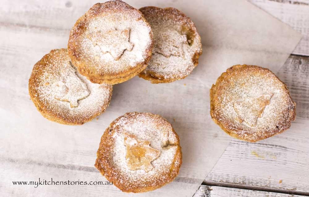 Gluten Free Christmas tarts