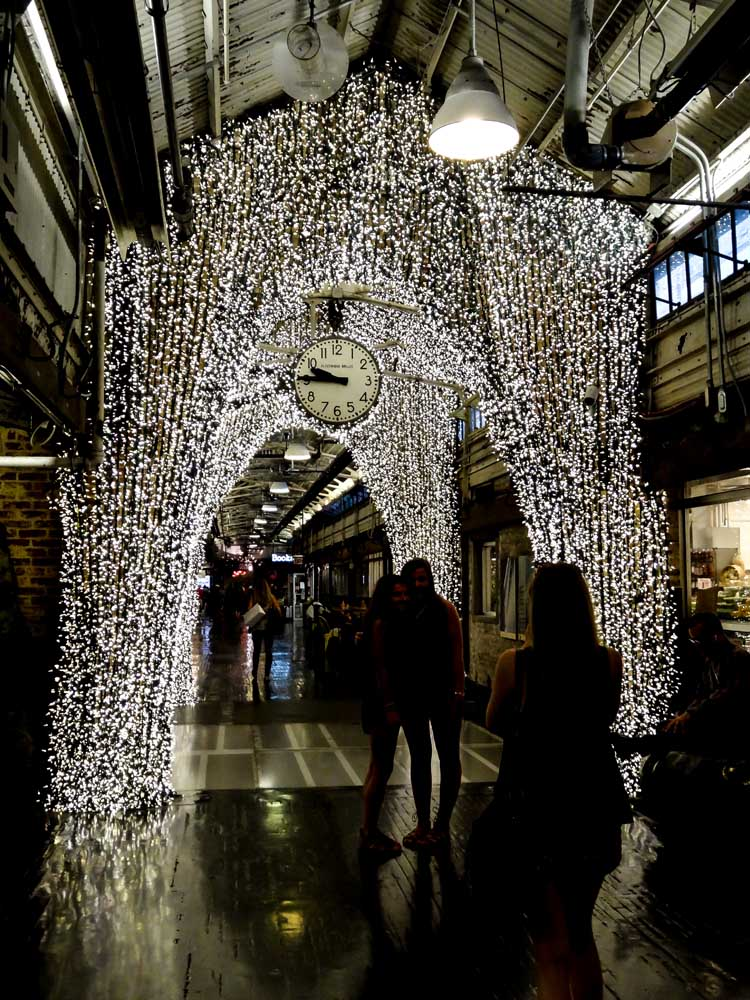 The Chelsea Market entrance