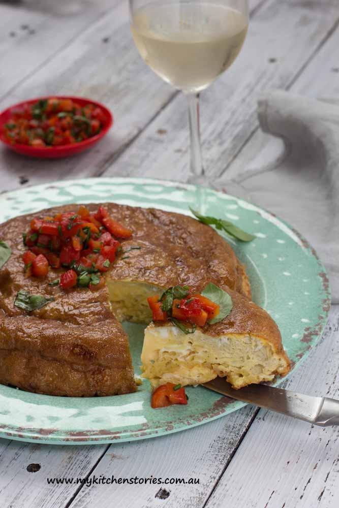 Spanish Chip omlette