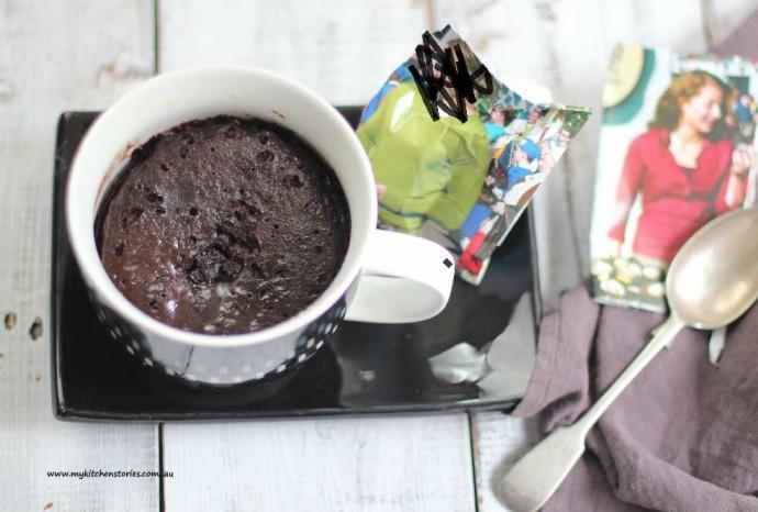 Mug Desserts for Singles made of Nutella