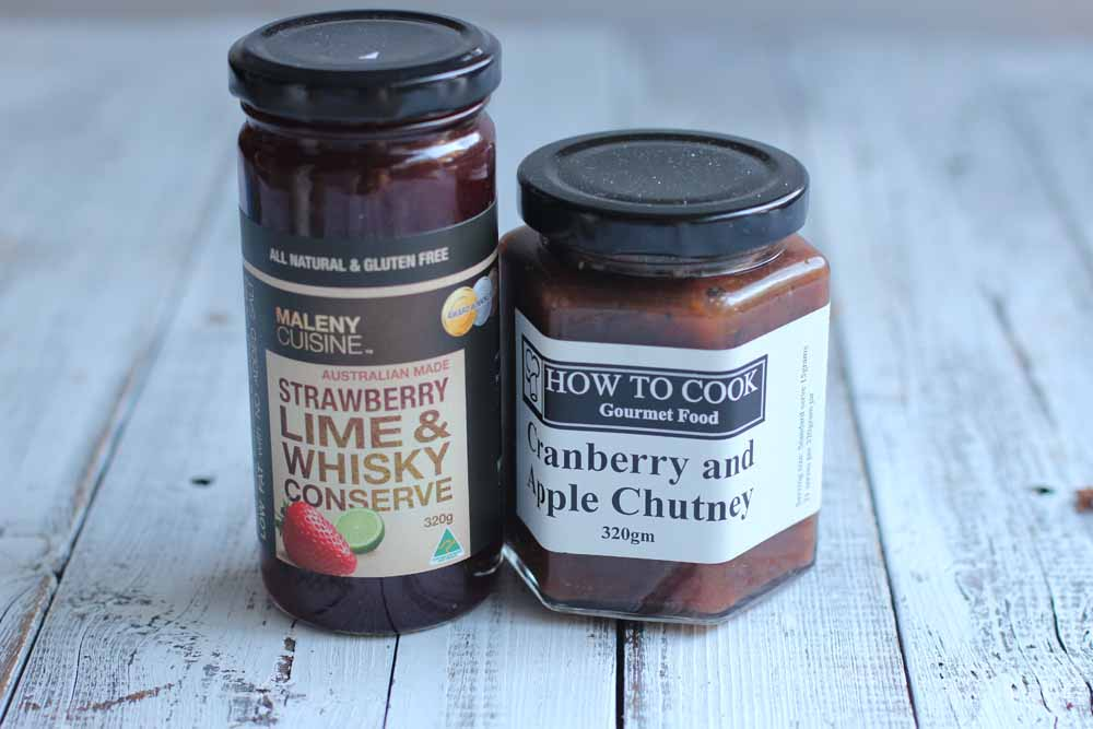 Whisky jam and chutney