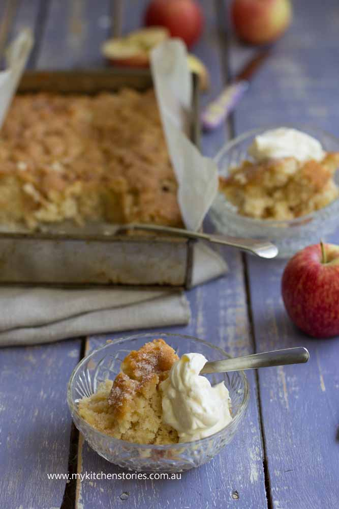 Apple Tray bake: Hillview Fine Foods