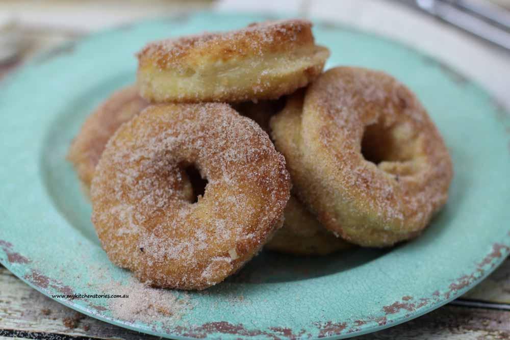 Pancake Doughnuts