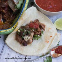 Slow Roast Lamb burritos
