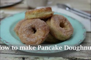 Make Pancake Doughnuts Yourself