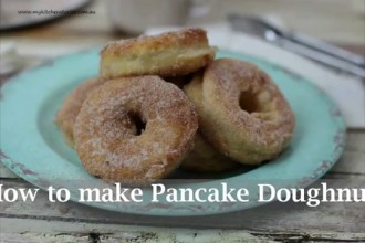 Make Pancake Doughnuts Yourself