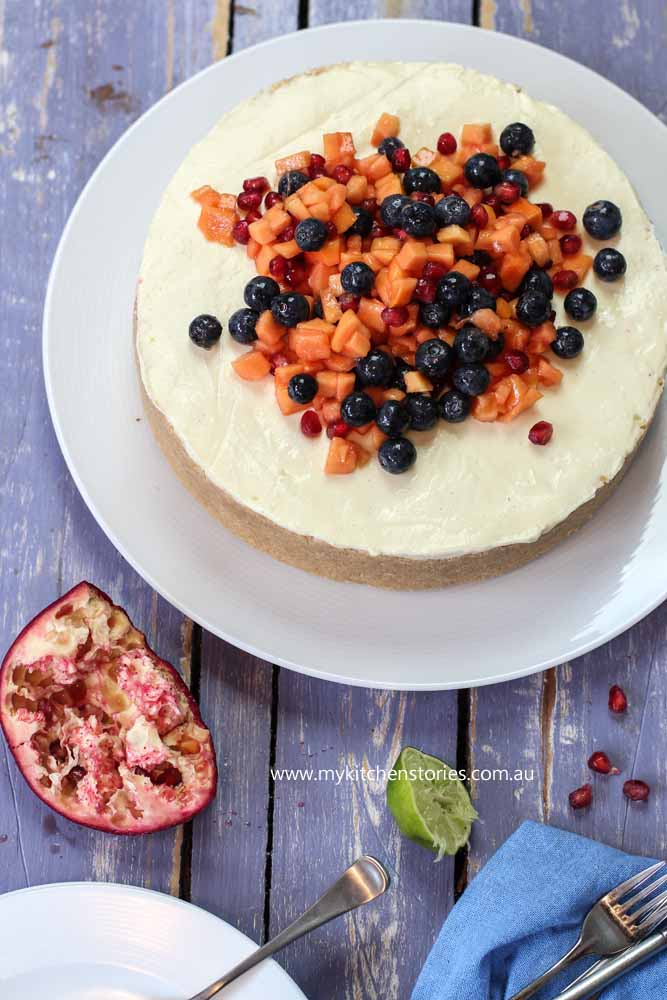 Lemon Cheesecake no bake