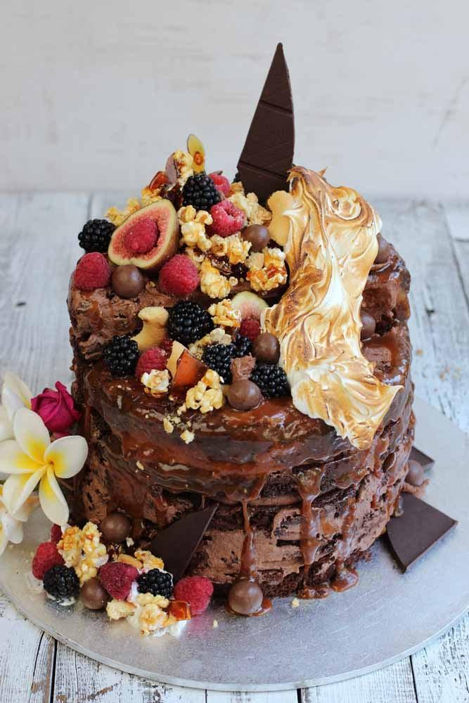 Gluten Free Brownie Stack cake