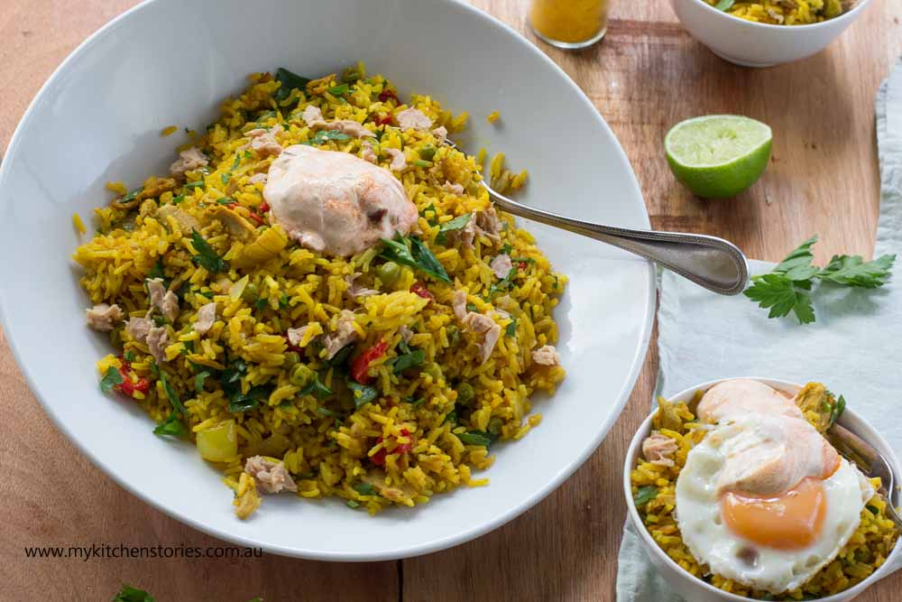 Turmeric Tuna rice