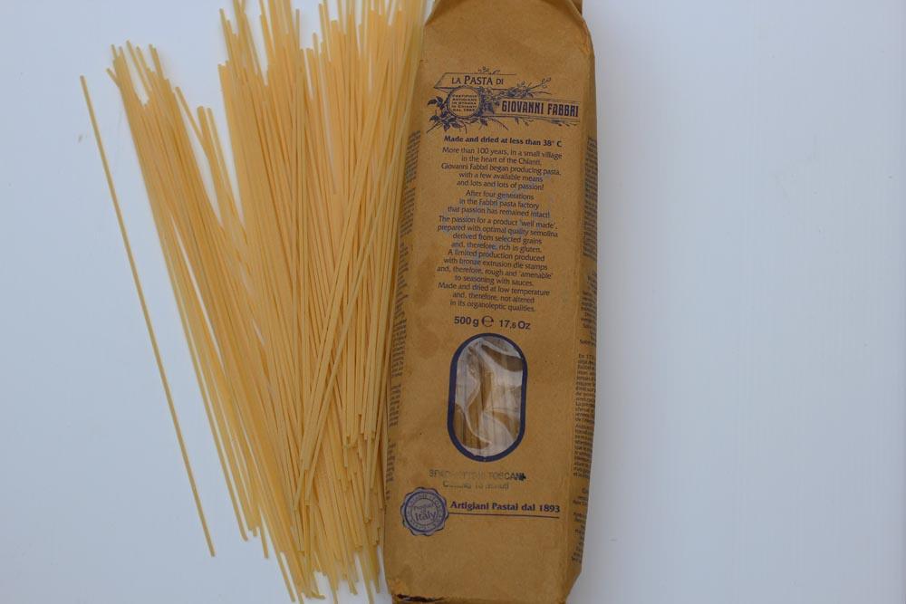 Spaghettini Carbonara with Pumpkin