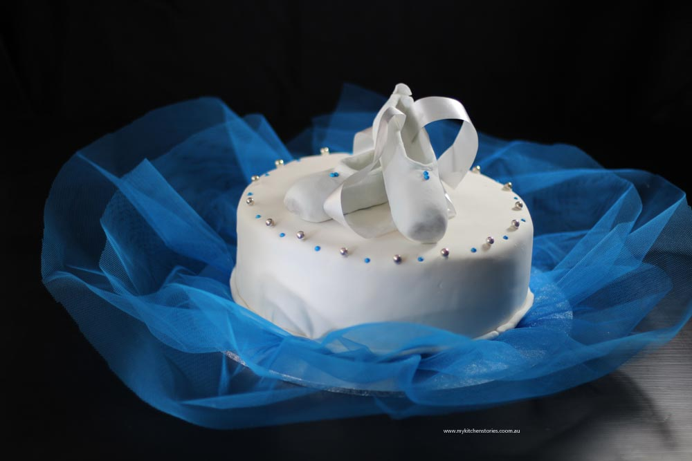 A Ballerina Cake