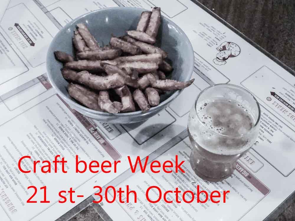 craft beer flyer