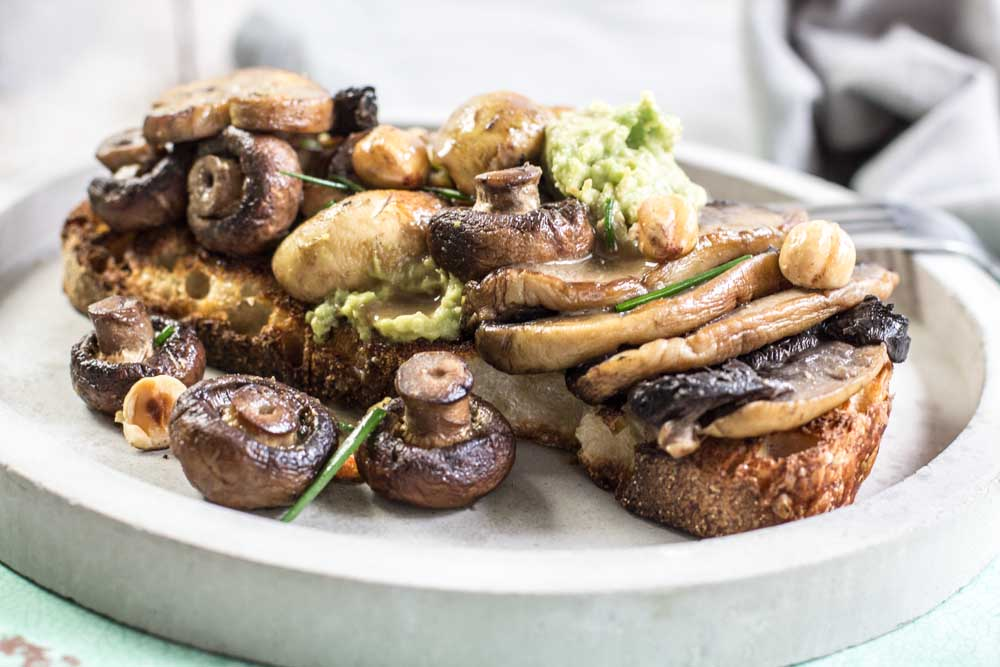 Mushies on Sourdough toast, Miso, Avocado. The perfect breakfast | My ...