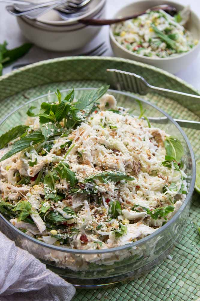 Chicken Sesame Salad
