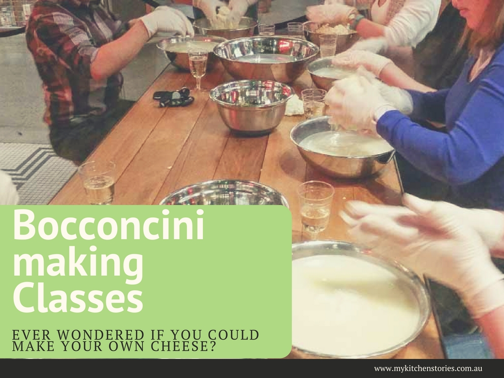 Bocconcini making classes