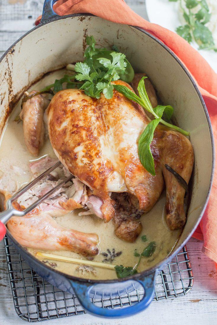 Coconut Roast Chicken