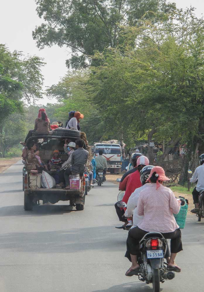 streets of Cambodia