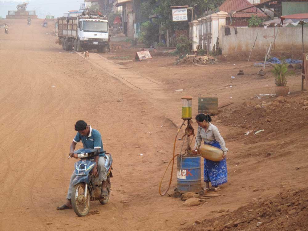 streets odf cambodia