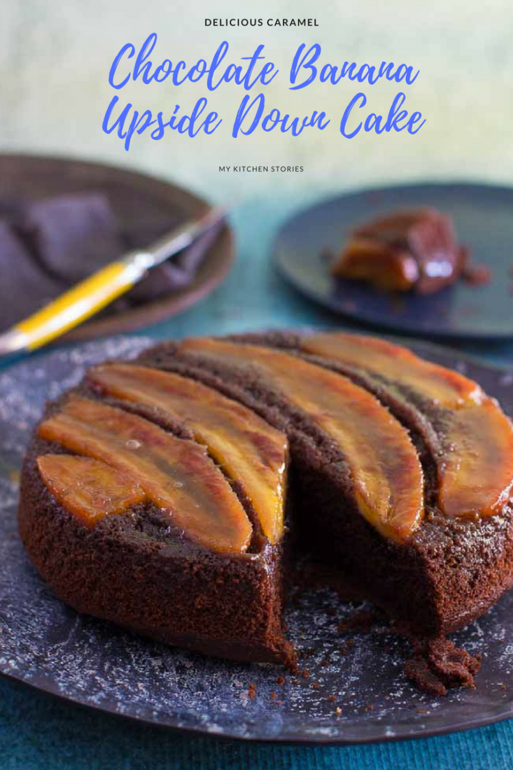 Banana Upside Down Cake