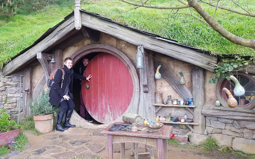 The set at Hobbiton- my kitchen stories