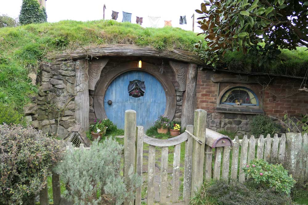 The blue door, Hobbiton- my Kitchen Stories