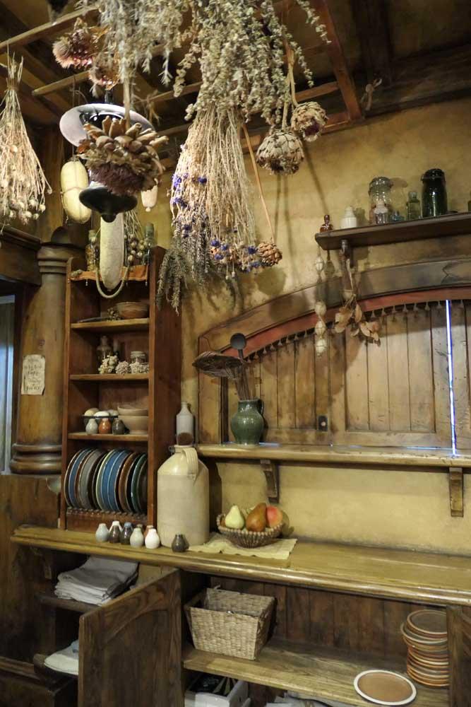 The interior bar at the Green Dragon, Hobitton