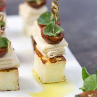 Haloumi Bites on a platter