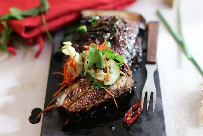 Whole Braised Pork with Black Vinegar Caramel