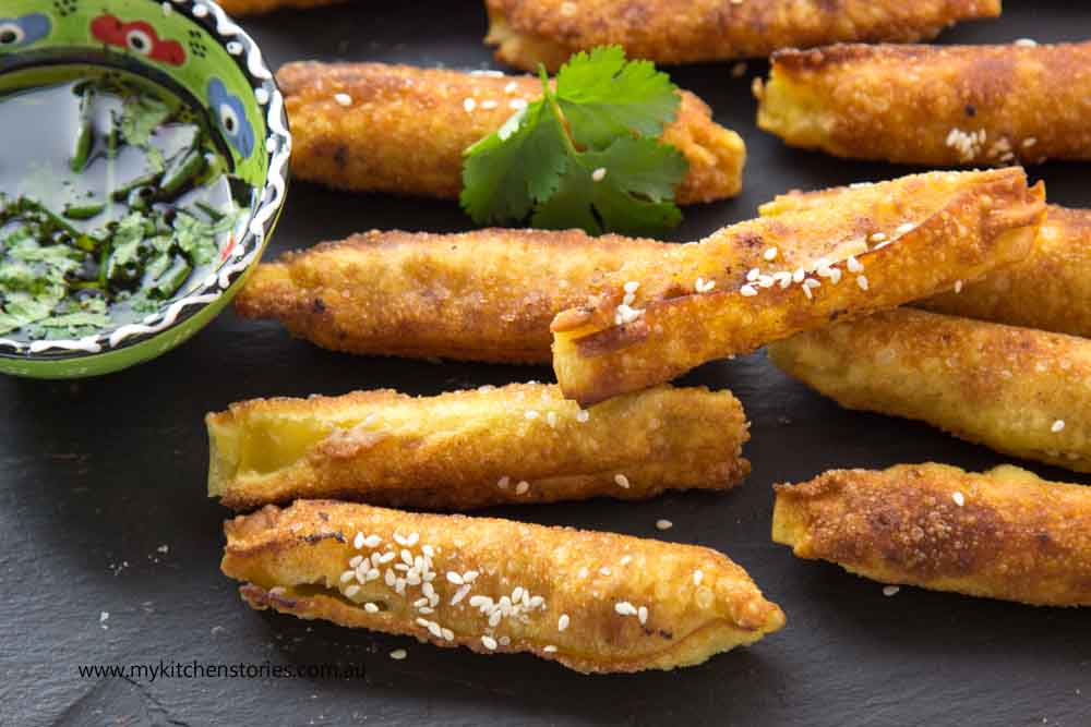 Wontons with Turkey Soy and sesame