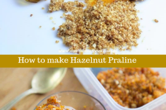 Hazelnut Praline . How to make it