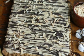 Chocolate Orange Marshmallow Tart