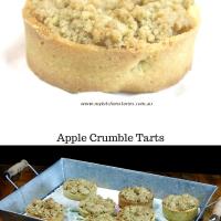 Apple Crumble Tart