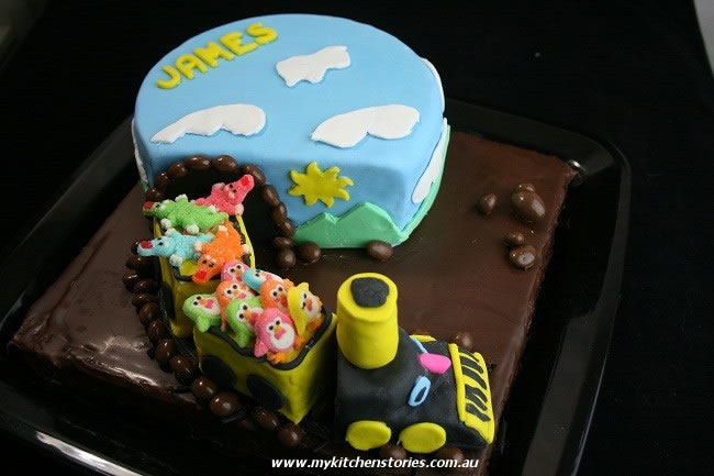 Long week end James's cake