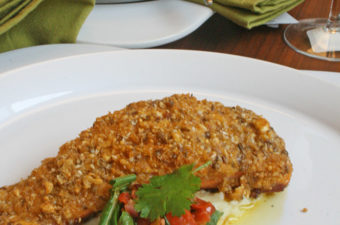 Dukkah Crusted Ocean trout