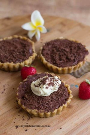 Chocolate Tart. No baking