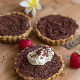 Chocolate Tart. No baking