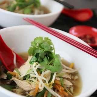 Chicken Noodle Soup with vegies