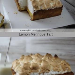 Lemon Meringue tart and life's moments