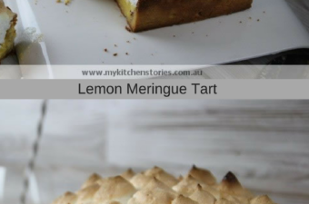 Lemon Meringue tart and life's moments