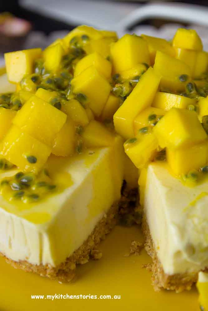 Mango Passionfruit Ice cream