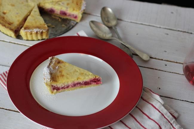 Raspberry Mascapone tart