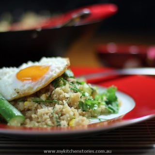 Cauliflower Fried Rice with Egg