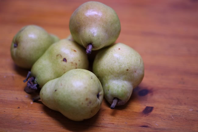 Seasonal pears