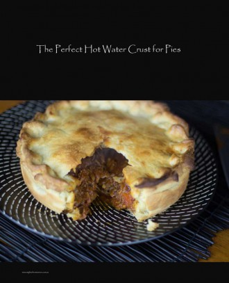 Hot water crust with meat