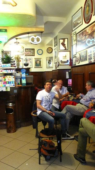 We meet at Bar Como