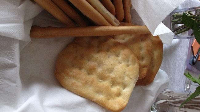 Local Breads the small  one Schiacciatine
