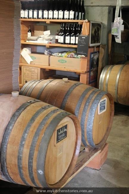 Ca De Noci barrels